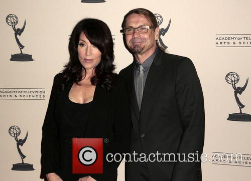 Katey Sagal and Kurt Sutter 4