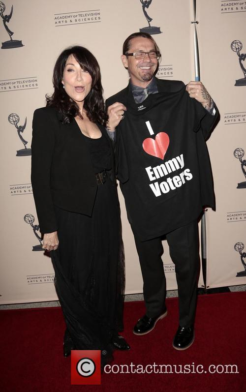 Katey Sagal and Kurt Sutter 1