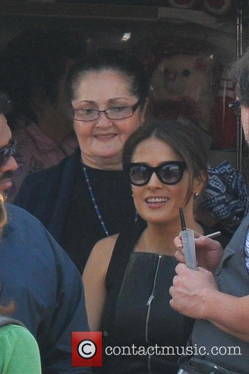Salma Hayek and Diana Jimenez Medina 2