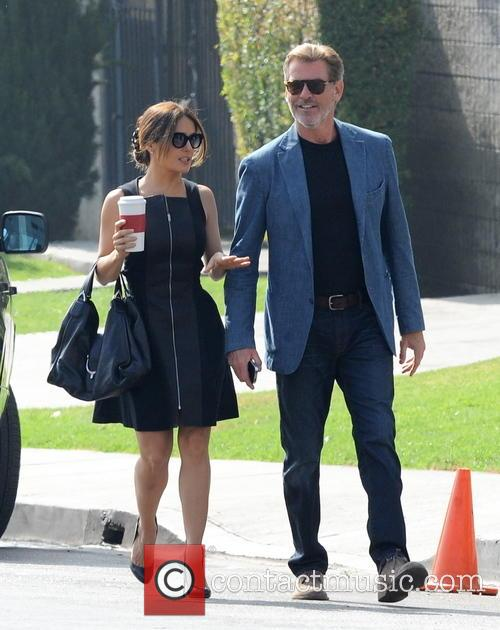 Salma Hayek and Pierce Brosnan 3