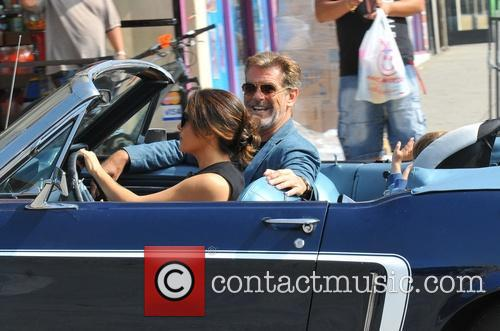 Salma Hayek and Pierce Brosnan 7