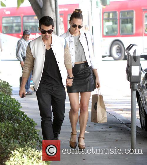 Joe Jonas and Blanda Eggenschwiler 1