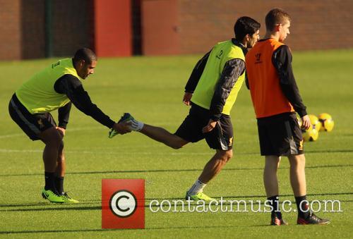 Luis Suarez and Glen Johnson 4