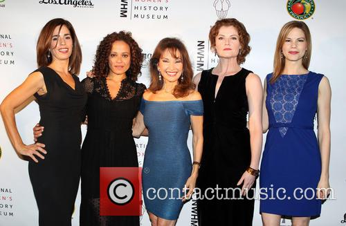 Ana Ortiz, Judy Reyes, Susan Lucci, Rebecca Wisocky and Mariana Klaveno 2