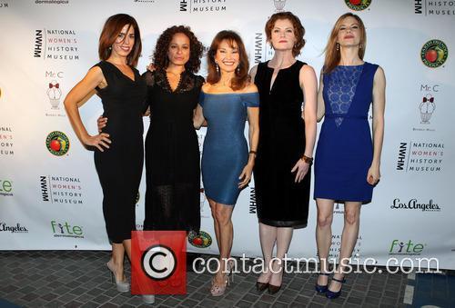 Ana Ortiz, Judy Reyes, Susan Lucci, Rebecca Wisocky and Mariana Klaveno 3
