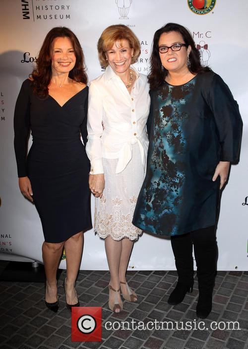 Fran Drescher, Joan Wages and Rosie O'donnell 3