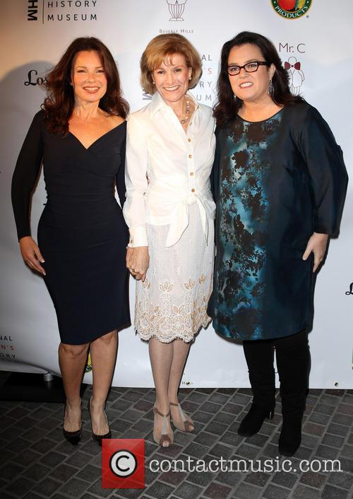 Fran Drescher, Joan Wages and Rosie O'Donnell 1