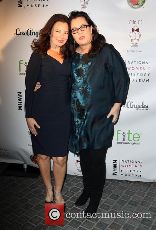 Fran Drescher and Rosie O'donnell 6