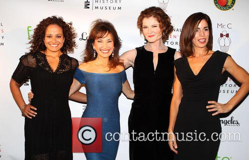 Judy Reyes, Susan Lucci, Rebecca Wisocky and Ana Ortiz 3