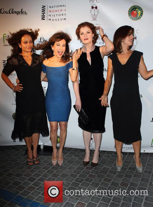 Judy Reyes, Susan Lucci, Rebecca Wisocky and Ana Ortiz 8