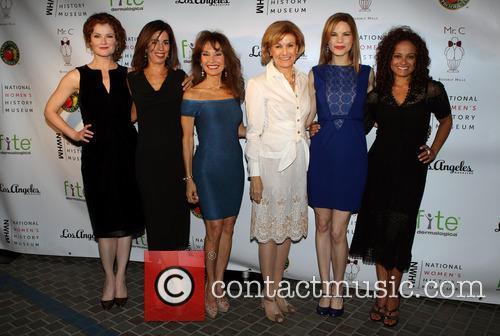Rebecca Wisocky, Ana Ortiz, Susan Lucci, Joan Wages, Mariana Klaveno and Judy Reyes 5