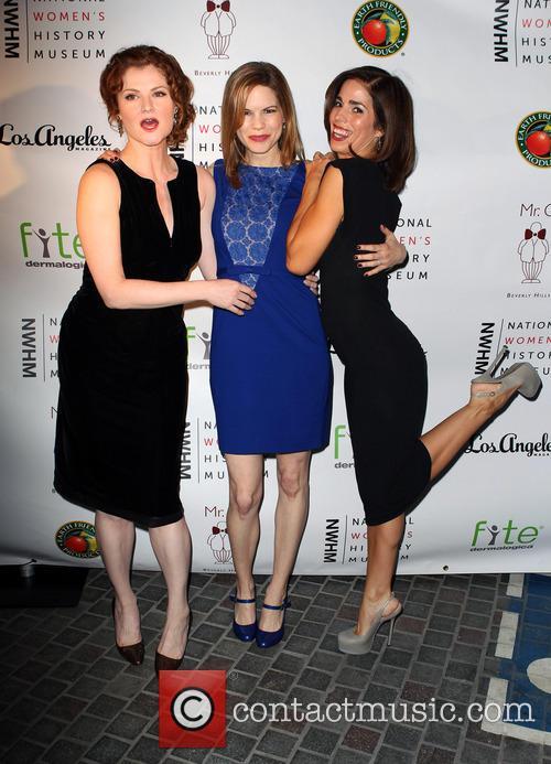 Rebecca Wisocky, Mariana Klaveno and Ana Ortiz