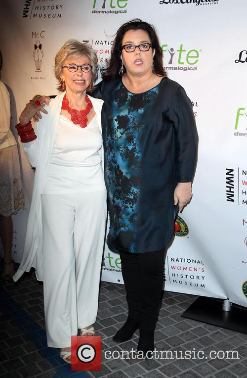 Rita Moreno and Rosie O'donnell 4