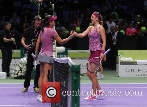 Victoria Azarenka and Li Na