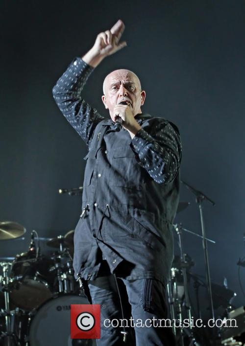 Peter Gabriel performs live in Manchester