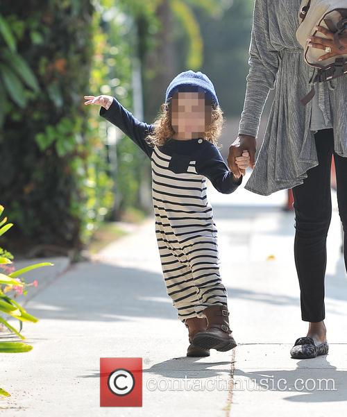 Skyler Berman out in Beverly Hills with his...