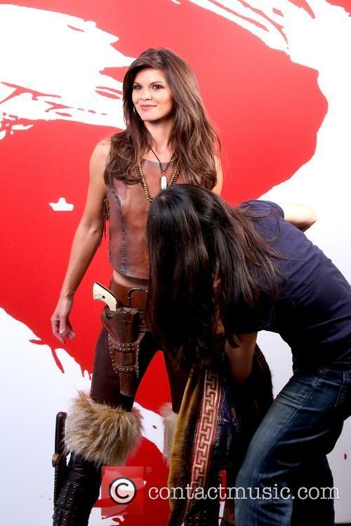Danielle Vasinova takes part in a photoshoot for...