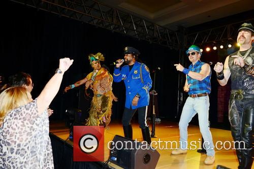 Village People, Ray Simpson, Bill Whitefield, Eric Anzalone and Felipe Rose 2