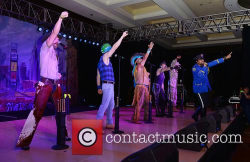 Jim Newman, Bill Whitefield, Felipe Rose, Eric Anzalone, Alex Briley, Ray Simpson and Village People 2