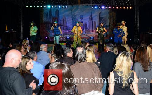 Village People, Bill Whitefield, Felipe Rose, Eric Anzalone, Ray Simpson, Alex Briley and Jim Newman 3
