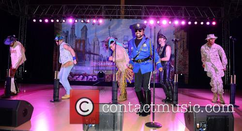 Jim Newman, Bill Whitefield, Felipe Rose, Ray Simpson, Eric Anzalone, Alex Briley and Village People 1