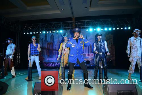 Jim Newman, Bill Whitefield, Felipe Rose, Ray Simpson, Eric Anzalone, Alex Briley and Village People 5