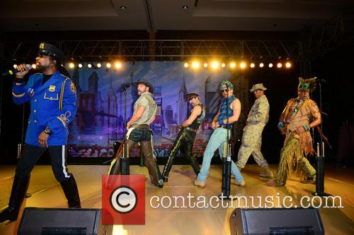 Ray Simpson, Jim Newman, Eric Anzalone, Bill Whitefield, Alex Briley, Felipe Rose and Village People 4
