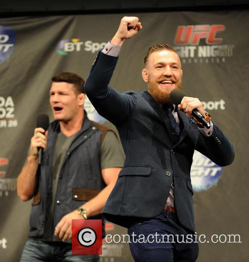 Uk Fighter Michael Bisping and Irish Fighter Conor Mcgregor 4