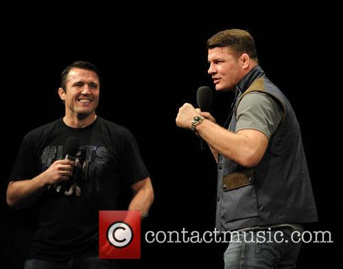 Uk Fighter Michael Bisping and Us Fighter Chael Sonnen 5