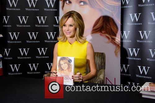 Amanda Holden signs copies of her new book...