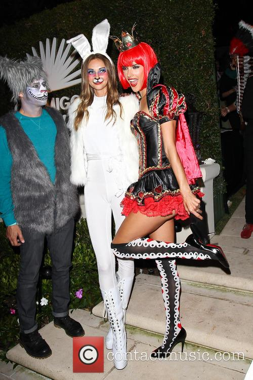 alessandra ambrosio celebrities at halloween party in 3923444