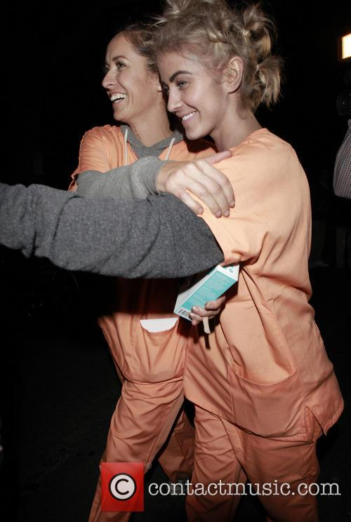 Julianne Hough, Mike Meldman Halloween Party