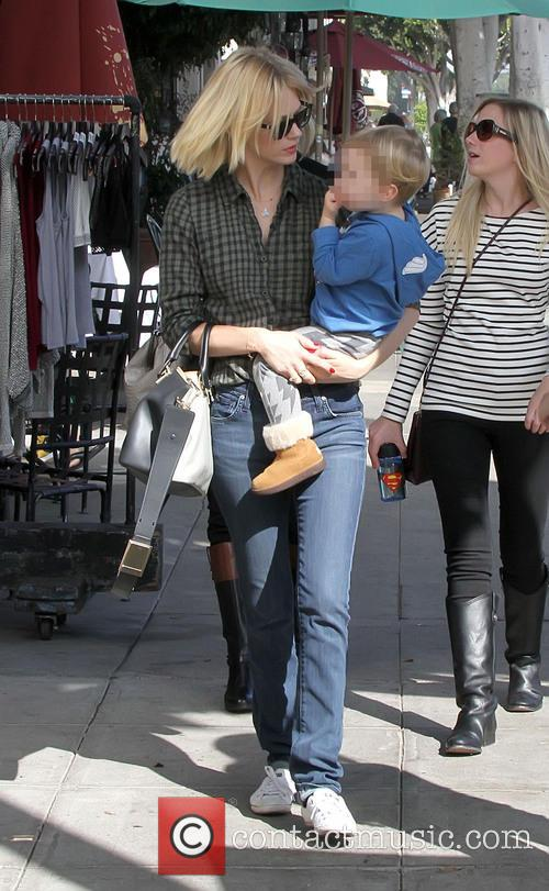 January Jones and Xander Dane Jones 4