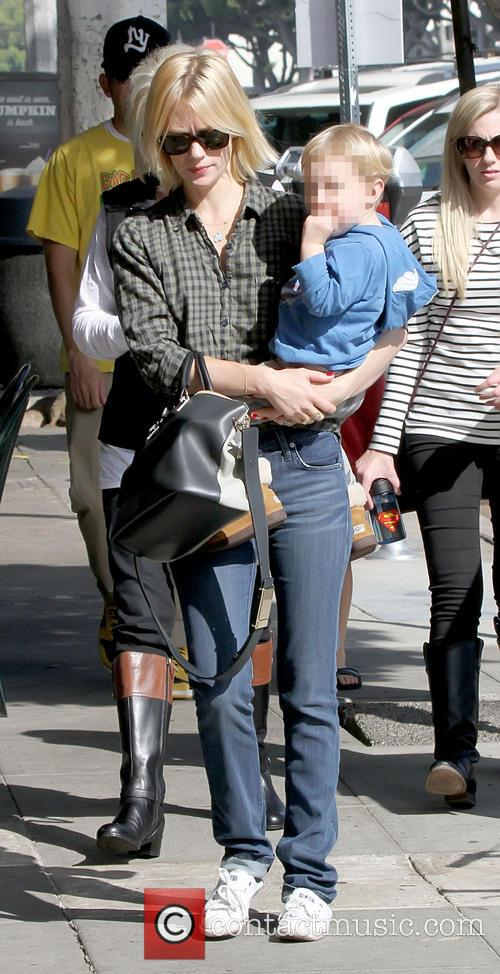 January Jones and Xander Dane Jones 5