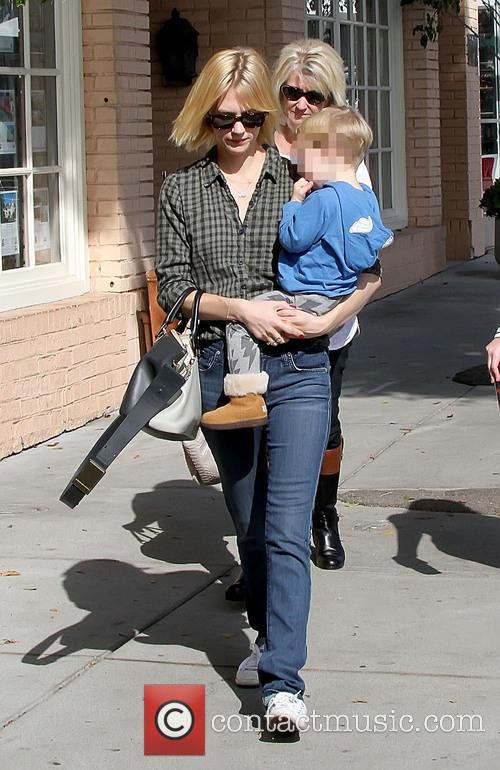 January Jones and Xander Dane Jones 9