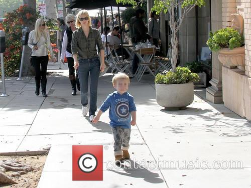 January Jones and Xander Dane Jones 11