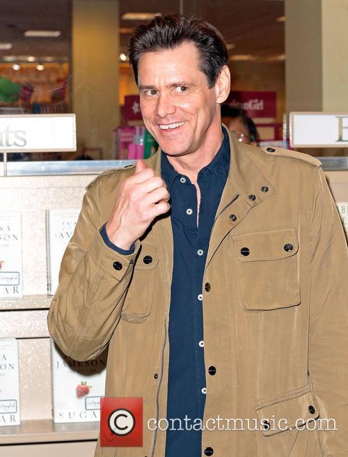 Jim Carrey, Barnes & Noble at The Grove