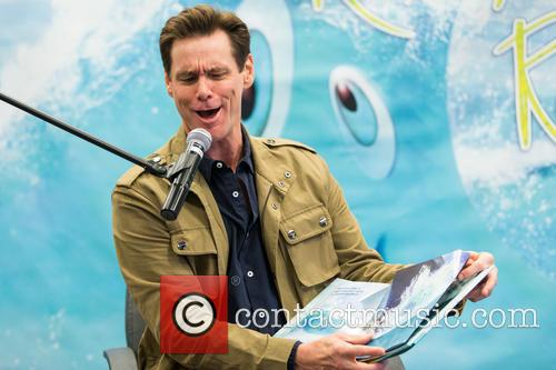 Jim Carrey promotes his new children's book 'How Roland Rolls'