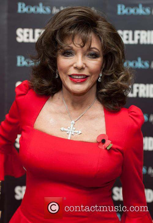 Joan Collins signing