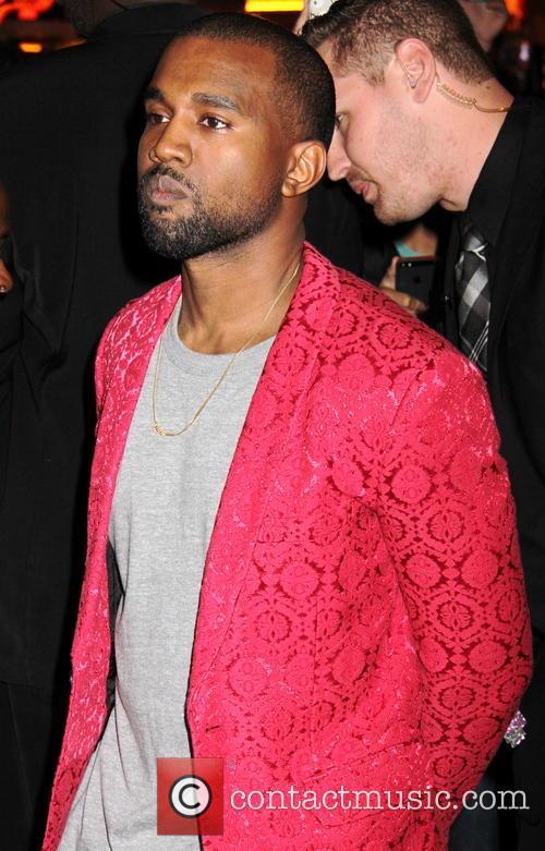Kanye West, Kim Kardashian's Birthday Party