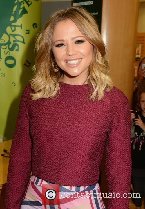 Kimberley Walsh signs copies of her autobiography