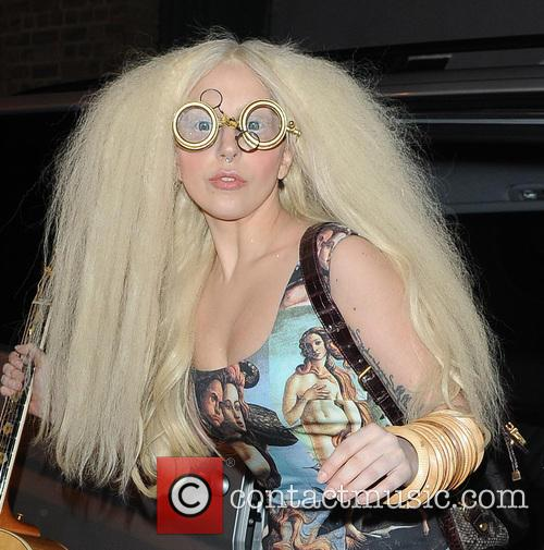 Lady Gaga arriving at The Ring Gym for a rehearsal