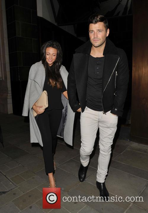 Michelle Keegan and Mark Wright 12