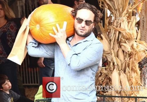 johnny galecki celebrities at mr bones pumpkin 3924432