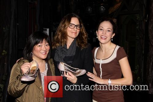 Ann Harada, Tina Fey and Laura Osnes 2