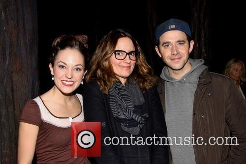 Laura Osnes, Tina Fey and Santino Fontana 1