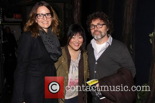 Tina Fey, Ann Harada and Jeff Richmond 4