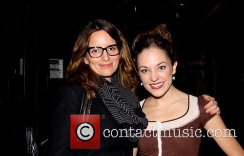 Tina Fey and Laura Osnes 2