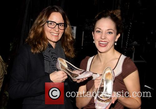 Tina Fey and Laura Osnes 5