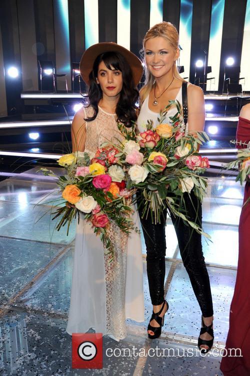 Katie Melua and Linda Hesse